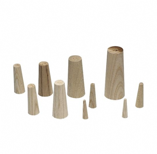 Pack of 9 Emergency Wooden Conical Plugs